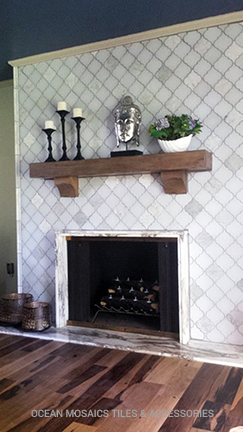 Tileosaic Tiles Can Add A Touch Of Charm Into Your Moroccan Arabesque Décor And Be Elegantly Used For Walls Backsplashes Fireplace Surrounds